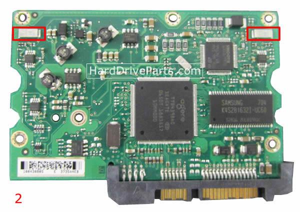 100435196 Seagate(シーゲート)基盤HDDのPCBハードドライブ基板HDD制御基板