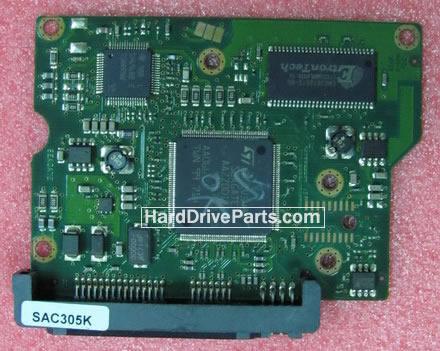 100442000 HDDのPCB(制御基板) Seagate製ST3250310ASの基板交換
