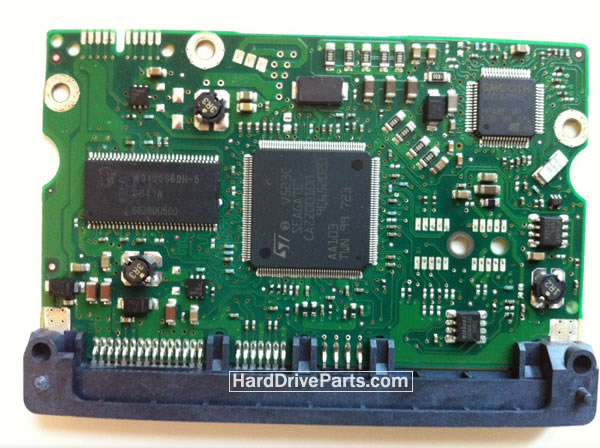 100466725 HDDのPCB(制御基板) Seagate製ST3500320ASの基板交換
