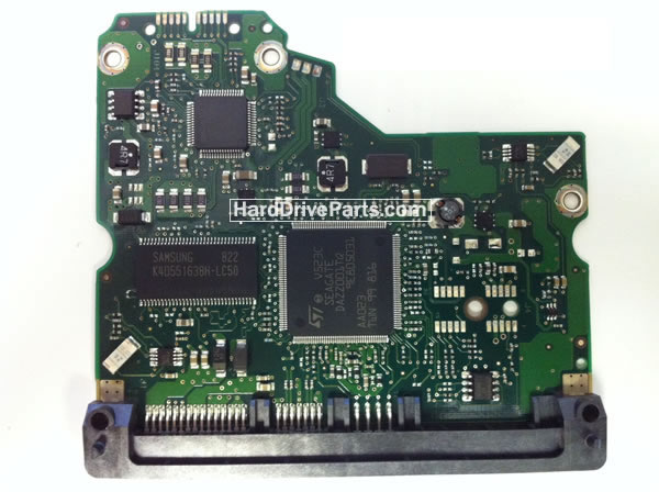 100466824 HDDのPCB(制御基板) Seagate製ST31000340NSの基板交換