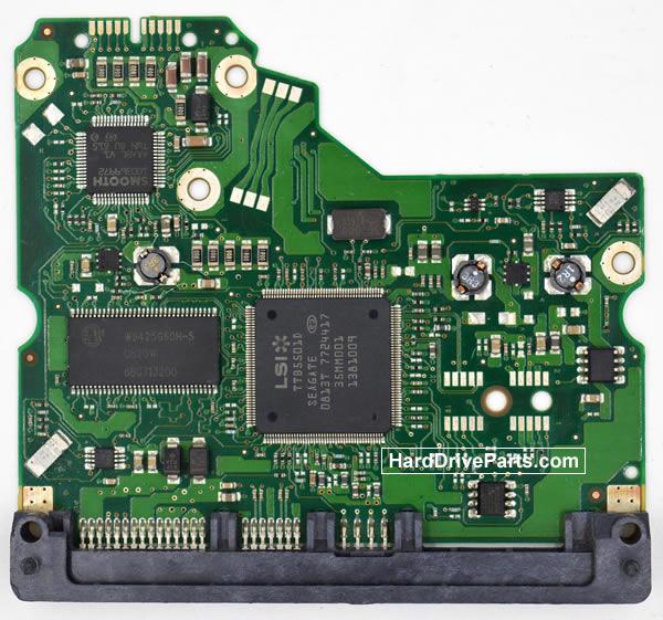100475720 HDDのPCB(制御基板) Seagate製ST3250310NSの基板交換