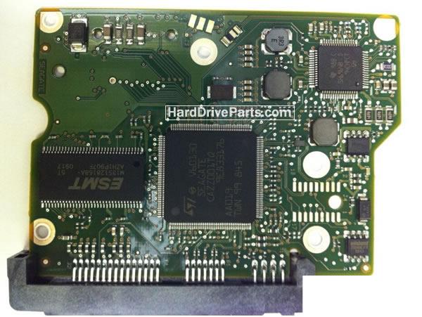 100535704 HDDのPCB(制御基板) Seagate製ST3500413ASの基板交換