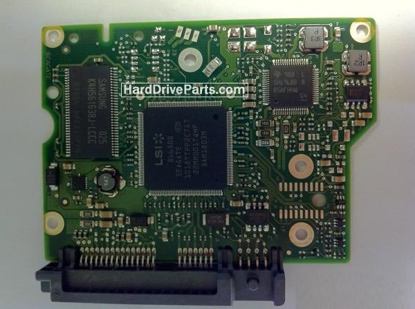 100603204 HDDのPCB(制御基板) Seagate製ST1500DL001の基板交換
