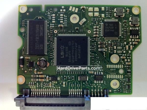 100617465 HDDのPCB(制御基板) Seagate製ST2000DL003の基板交換