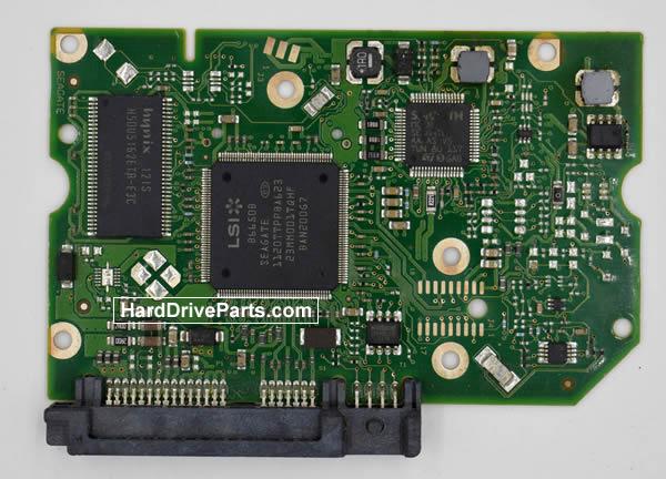 Seagate ST1500DL003 HDD制御基板 100617476