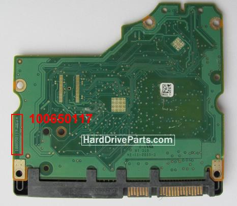 100650117 HDDのPCB(制御基板) Seagate製ST31500541ASの基板交換