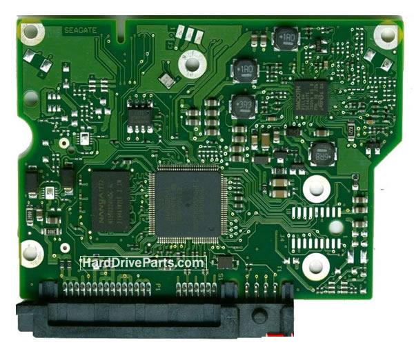 100717520 HDDのPCB(制御基板) Seagate製ST2000DM001の基板交換