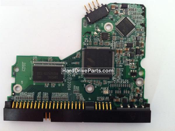 2060-001292-000 HDDのPCB(制御基板) WD製WD800JBの基板交換