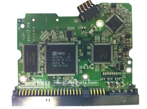2060-701265-001 HDDのPCB(制御基板) WD製WD1600SBの基板交換