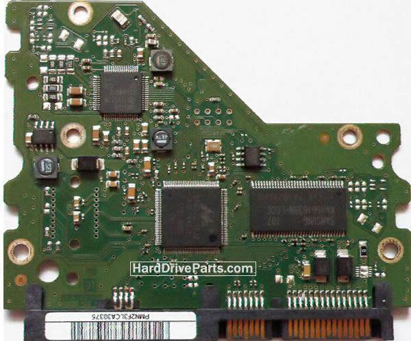 BF41-00314A HDDのPCB(制御基板) SAMSUNG製HD204UIの基板交換