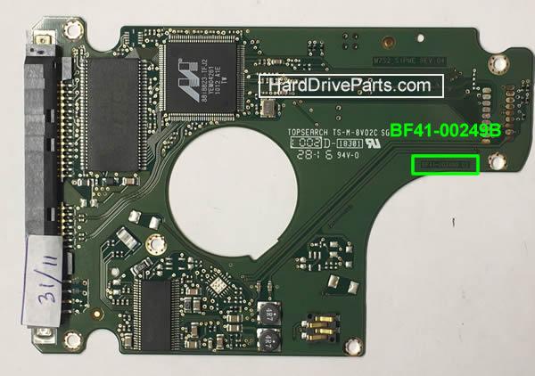 ハードディスク基板交換 SAMSUNG(サムスン)HDD 2.5