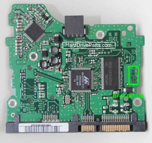 ハードディスク基板交換 SAMSUNG(サムスン)HDD 3.5