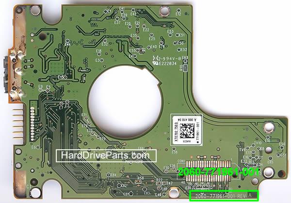 ハードディスク基板交換 WD(ウェスタンデジタル)Western Digital 2.5