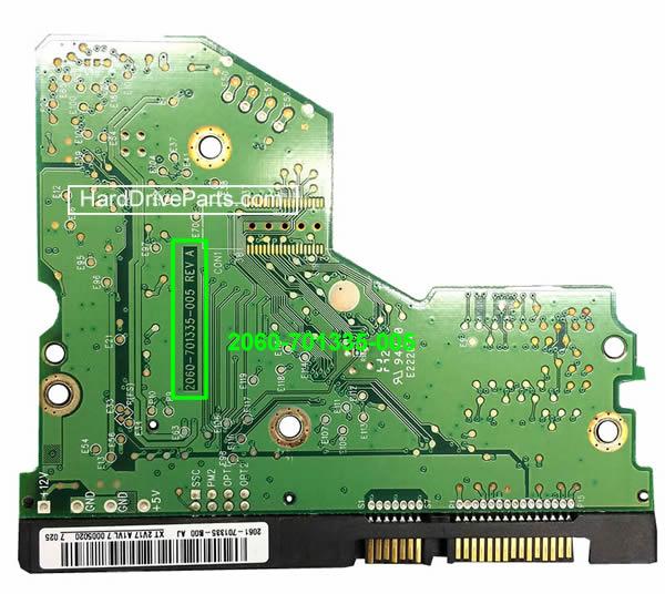 ハードディスク基板交換 WD(ウェスタンデジタル)Western Digital