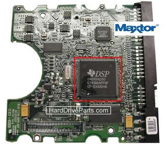 hdd 基盤交換、MAXTOR(マックストア) hdd基板交換、 ハードディスク基板交換