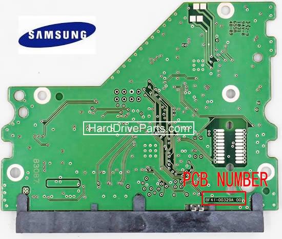 hdd 基盤交換、SAMSUNG hdd基板交換、 ハードディスク基板交換