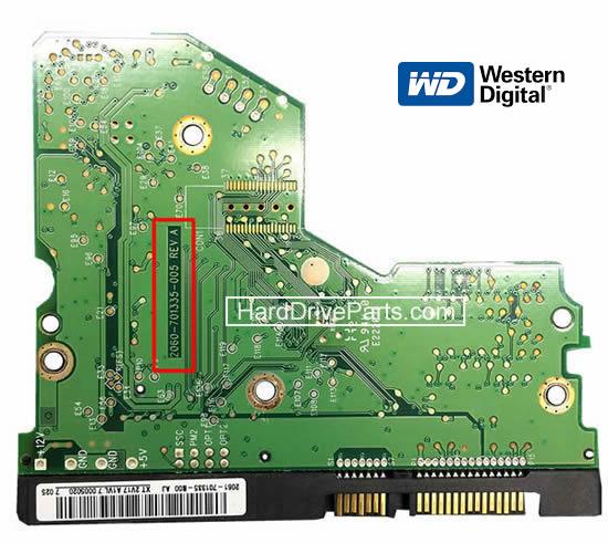 hdd 基盤交換、wd hdd基板交換、 ハードディスク基板交換